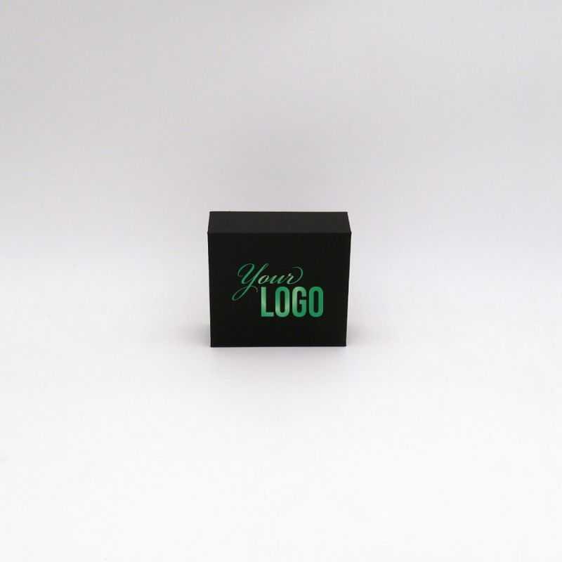 Personalisierte Magnetbox Sweetbox 10x9x3,5 cm | Sweet Box | Impression à chaud 1 couleur