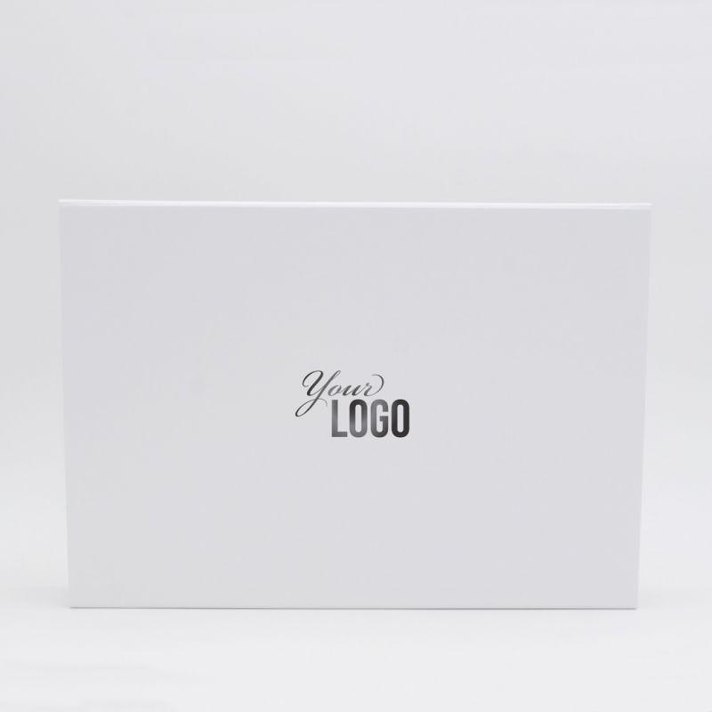 Personalisierte Magnetbox Flatbox 33x22x10 CM | WONDERBOX | STANDARDPAPIER | HEISSES DRUCKEN